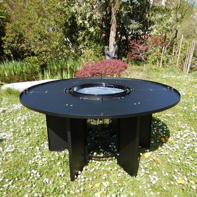 live in design de the grill table. Black Bedroom Furniture Sets. Home Design Ideas